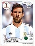 #3: 2018 Panini World Cup Stickers Russia #288 Lionel Messi