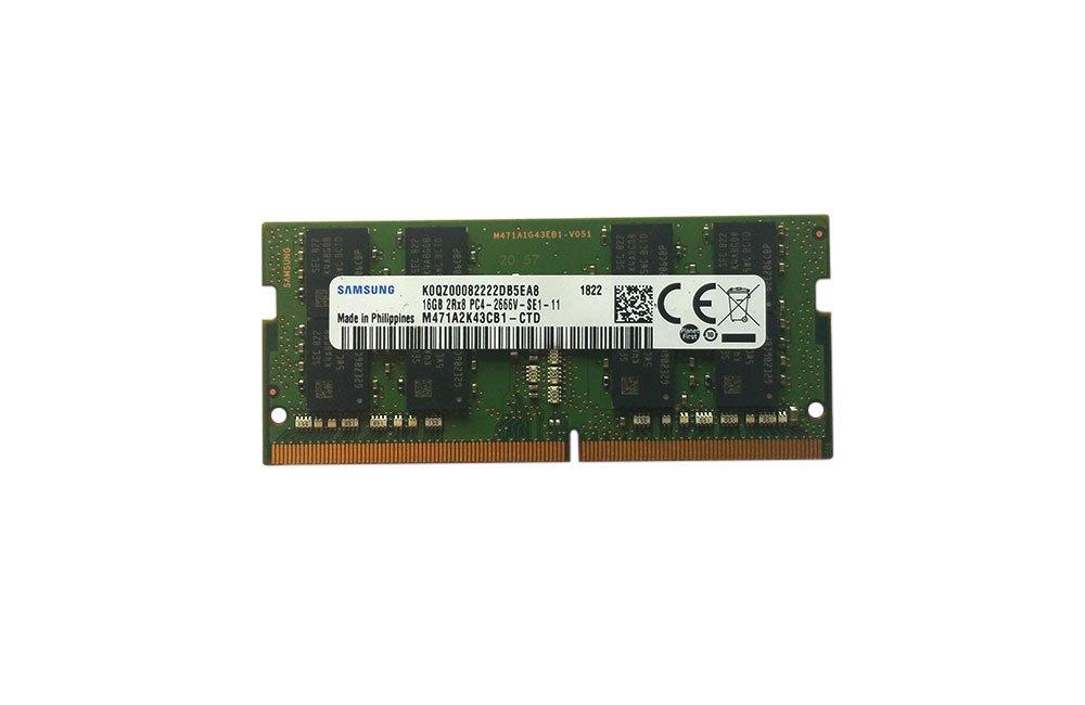 Samsung 16GB DDR4 PC4-21300, 2666MHZ, 260 PIN SODIMM, 1.2V, CL 19 laptop ram memory module by Samsung