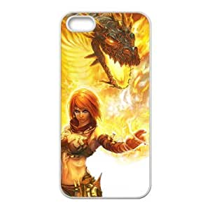 Beast On Fire Beast On Fire iPhone 5 5s Cell Phone Case White VBS_3714397