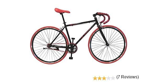 Helliot Bikes Fixie Soho H03 Bicicleta Urbana, Unisex Adulto, Negro Mate, Talla Única: Amazon.es: Deportes y aire libre