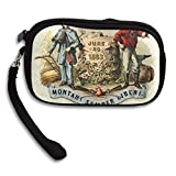 West Virginia State Coat Of Arms Deluxe Printing Small Purse Portable Receiving Bag