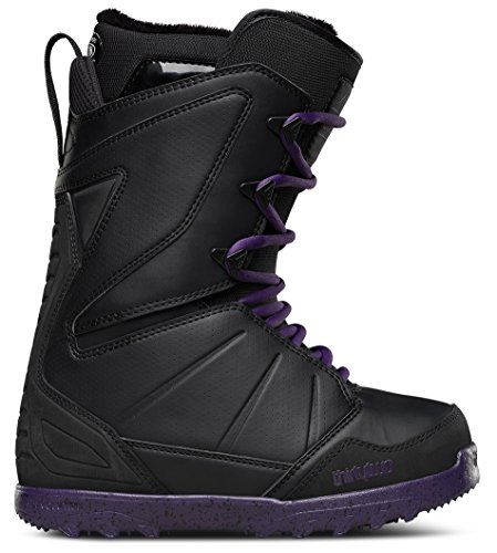 Thirtytwo Lashed Women's Snowboard Boots, Black, Size 9 (Snowboard 9 Boots Size)