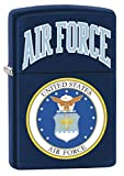 Zippo Lighter: USAF Air Force Logo - Navy Matte 79434