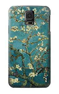S0842 Blossoming Almond Tree Van Gogh Case Cover for Samsung Galaxy S5