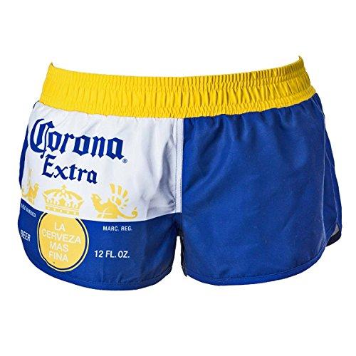 Corona Extra Label Design Women's Swim Board Shorts X-Large