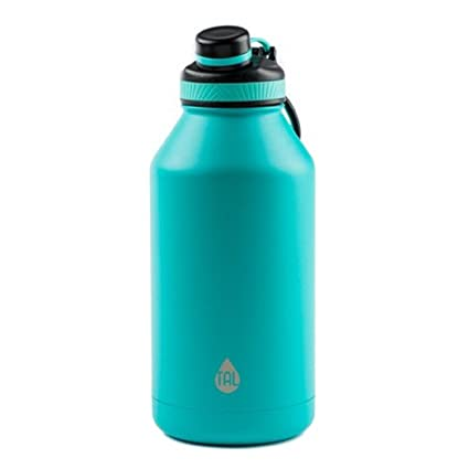 bdddcedd06b Image Unavailable. Image not available for. Color: TAL Teal 64oz Double  Wall Vacuum Insulated Stainless Steel Ranger Pro Water Bottle