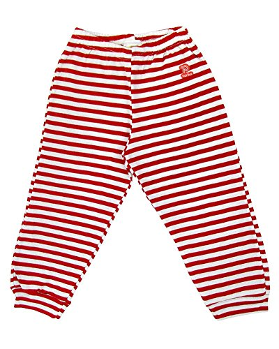 Red And White Striped Pants - 6