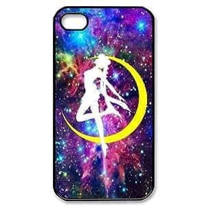 Manga Sailor Moon Usagi Tsukino Purple Galaxy Apple iphone 4 or iphone 4S Nice Durable Hard Case