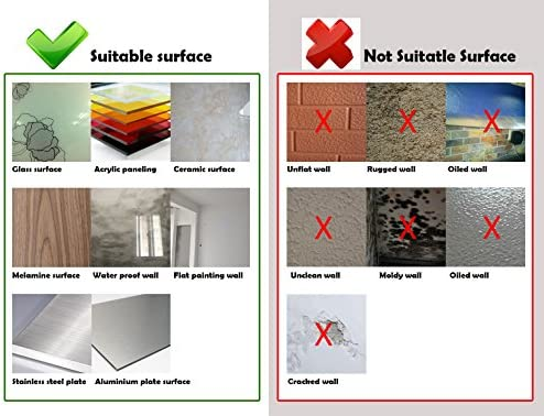 "Art3d 10-Sheet Premium Stick On Kitchen Backsplash Tiles, 12""x12"" Peel and Stick Self Adhesive Bathroom 3-D Wall Tiles, Marble Design"