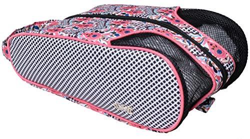 (Glove It Women's Shoe Bag Ladies Shoe Bags for Travel & Storage - Womens Shoes Carrying Bag - Shoe Organizer - Mesh Air Flow Case - Gym, Sneaker, Traveling, Sports - 2019 Marrakesh )