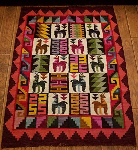 Tapestry Aspen Andes Alpaca design