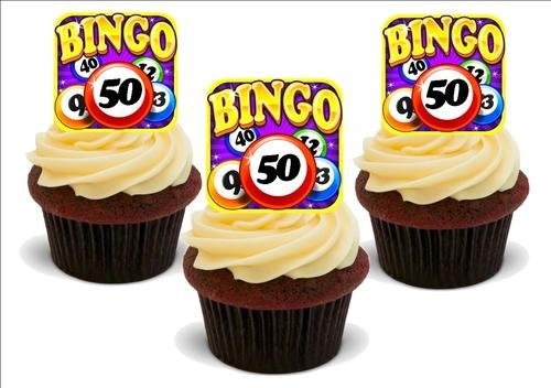 Bingo Karte 50 Geburtstag