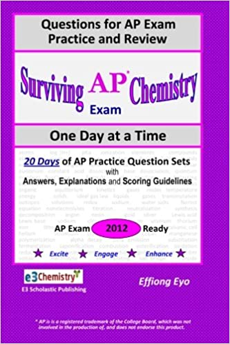 Surviving chemistry ap exam one day at a time questions for ap exam surviving chemistry ap exam one day at a time questions for ap exam practice and review with answers explanations and scoring guidelines purple cover fandeluxe Image collections