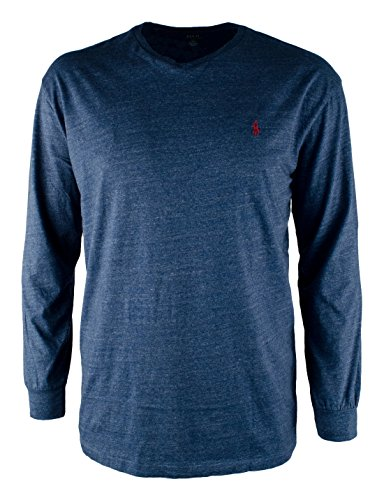 Polo Ralph Lauren Mens Big & Tall Long Sleeve V Neck ()