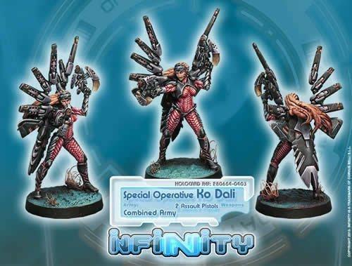 Infinity: Combined Army Special Operative Ko Dali Corvus Belli