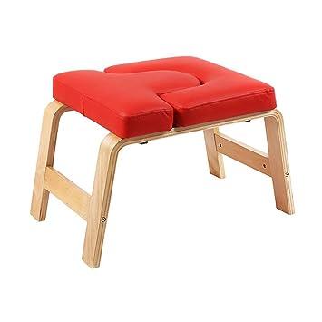 Banco de yoga Headstand: silla de yoga de pie, alivia la ...