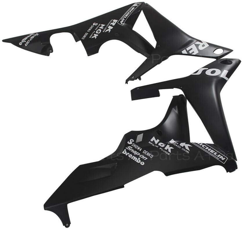 For 2007 2008 HONDA CBR600RR CBR 600RR Injection Matte Black Fairings Kit ABS Plastic Aftermarket Bodywork