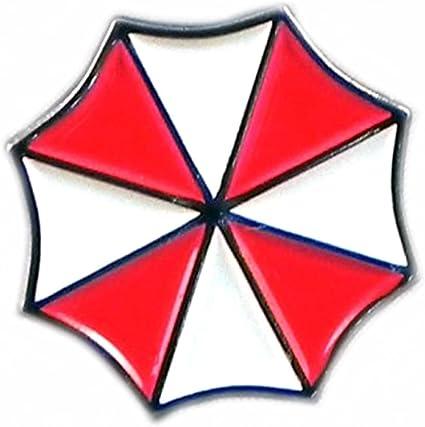 Umbrella Corporation Resident Evil Cosplay Metal Pin Badge