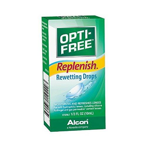 OPTI-FREE Replenish Rewetting Drops, 10-mL