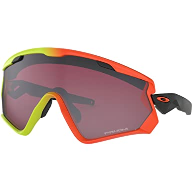 eaf670bf57 Oakley Men s Wind Jacket 2.0 Non-Polarized Iridium Rectangular Sunglasses