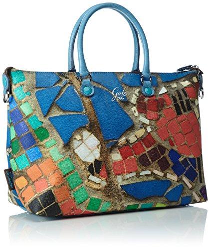 GABS Katia - Bolso de mano Mujer Mehrfarbig (Mosaico)