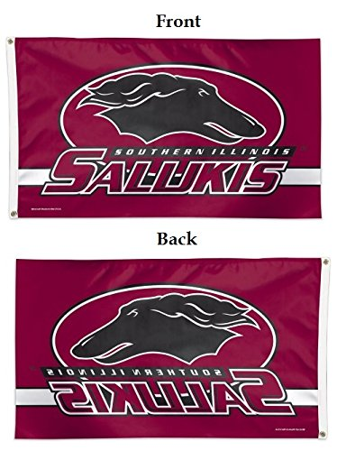WinCraft NCAA Southern Illinois Deluxe Flag, 3' x 5'