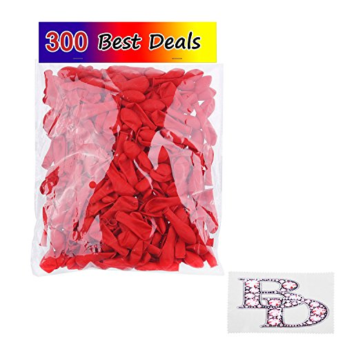water-balloons-300-pack-red-use-as-water-bombs-great-outdoor-water-sports-fun-for-kids-and-grandpare