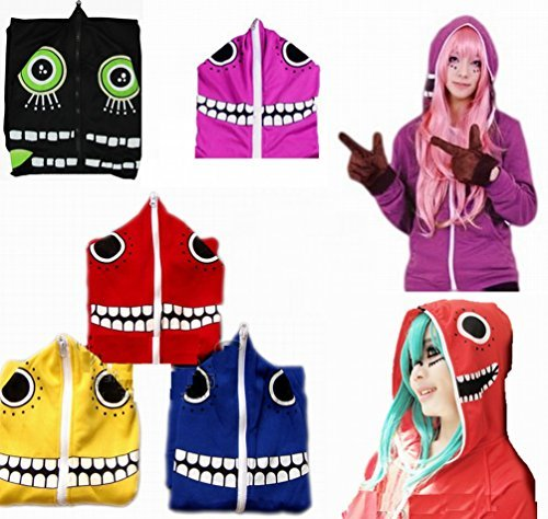Cosplay costumes vocaloid matryoshka hoodies gloves hatsune miku