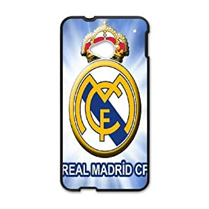 HTC One M7 Phone Cases Black Real Madrid ERG724476