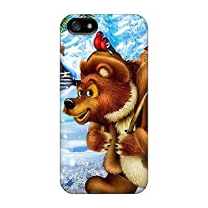 DanLuneau Cases Covers For Iphone 5/5s - Retailer Packaging Christmas Time Coming Protective Cases