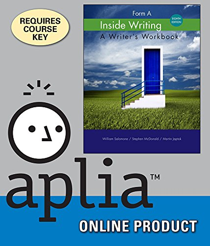 aplia-for-salomone-mcdonald-japtoks-inside-writing-form-a-8th-edition