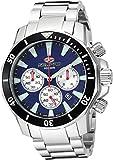 SEAPRO Men's Casual Scuba Dragon Diver Limited Edition 1000 Meters Blue Dial Quartz Watch (Model: SP8345)
