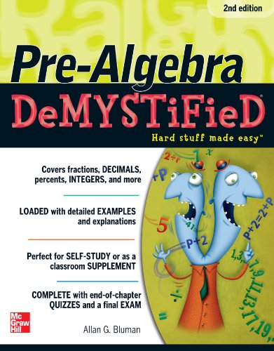 Pre-Algebra DeMYSTiFieD, Second Edition (Fix Everything Electronic compare prices)