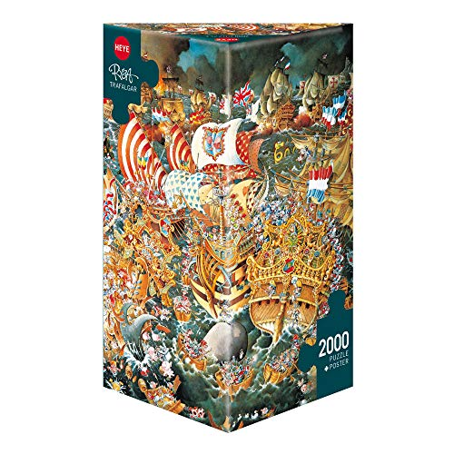Heye 29795 Trafalgar Ryba Triangular Puzzle (2000-Piece)