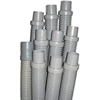 Hayward V130LG Standard Hose kit Replacement for Hayward In-Ground Automatic Cleaners, 48-Inch, Light Gray, 10-Pack