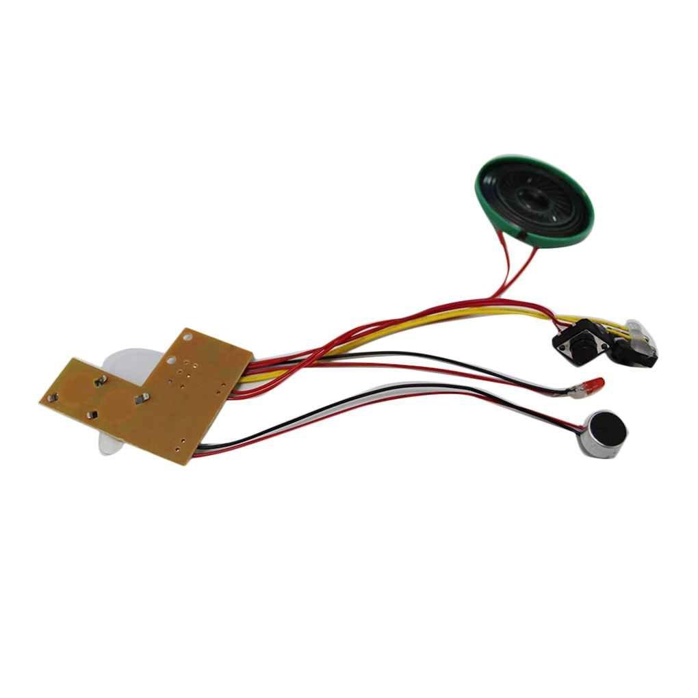 Flushzing Registrabile Modulo Vocale per Greeting Card Musica Suono Conversazione Chip Musicale Audio Radio Recorder