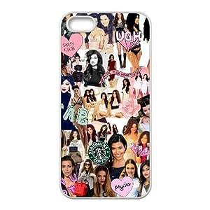iPhone 4 4s funda Blanco [PC dura del caso + HD Pattern] Kim Kardashian® Series [Numeración: JJJJDHKOF2678]