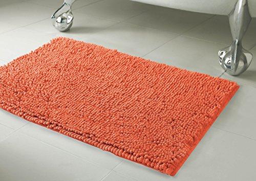 Orange Bath Rugs - 2