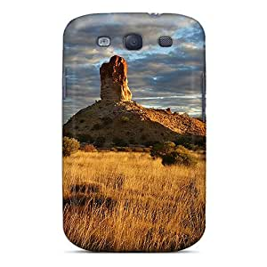 Tpu Asbarn Shockproof Scratcheproof Rock Formation Hard Case Cover For Galaxy S3