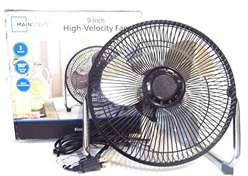 MAINSTAYS 9 inch High Velocity Fan]()