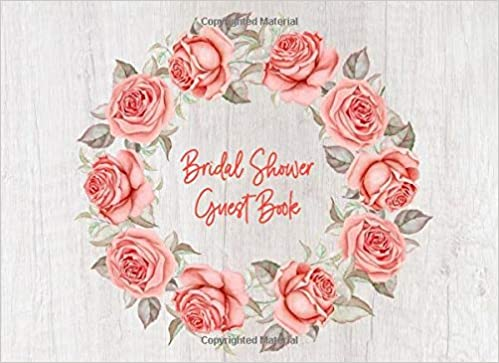 Bridal Shower Guest Book Bridal Shower Decorations Ideas Rustic Paperback 100 Sign In Pages Memory Message Book To Write Wishes Advice For Bride Wedding Keepsake Plus Gift Log Record