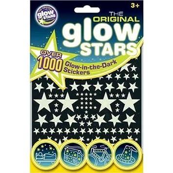 The Original Glowstars - Estrellas adhesivas que brillan en la oscuridad (1000 unidades) B8002
