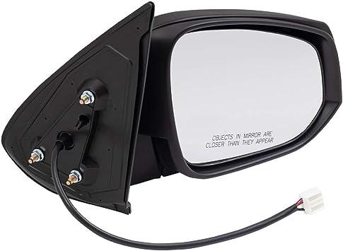 Side View Mirror Power Textured Black Driver Left LH for 06-13 Honda Ridgeline