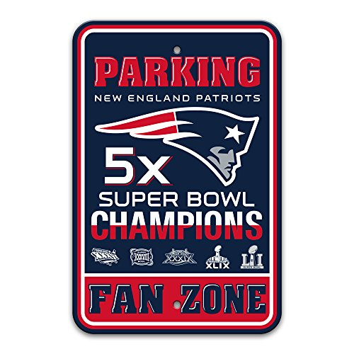 nfl-new-england-patriots-super-bowl-51-5x-champions-parking-sign