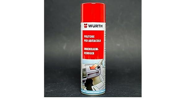 Wurth - Espuma limpiadora para interior de coche: Amazon.es: Coche y moto