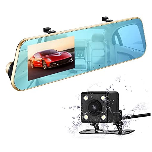 isYoung Car Dash Cam 720P HD Dashboard Camera Recorder with Loop Recording G-Sensor 120 Degrees Degree Wide Angle View DVR Camera Video Recoder PF-3330