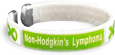 12 Bracelets B-02-9LY 12 Lymphoma Lime Green Ribbon Rope Bracelets Individually bagged