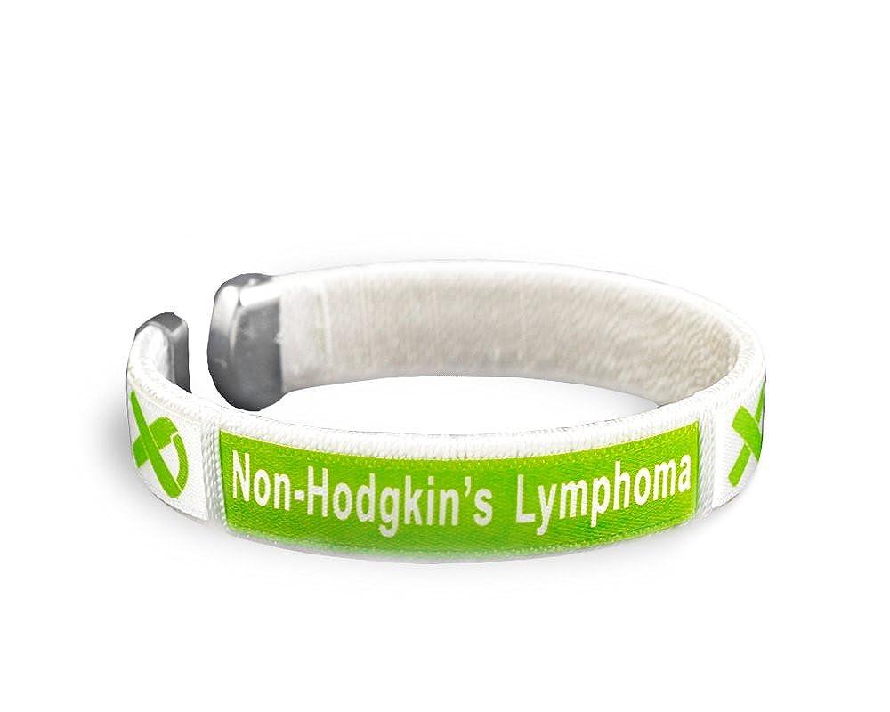 25 Non-Hodgkin's Lymphoma Awareness Bangle Bracelets