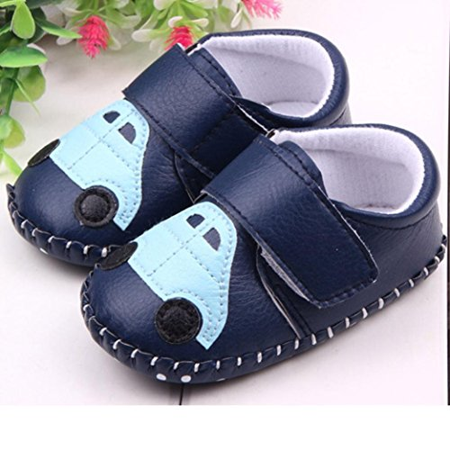 Transer ,  Baby, Jungen Baby Mädchen Unisex Babys Durchgängies Plateau Sandalen mit Keilabsatz Blau