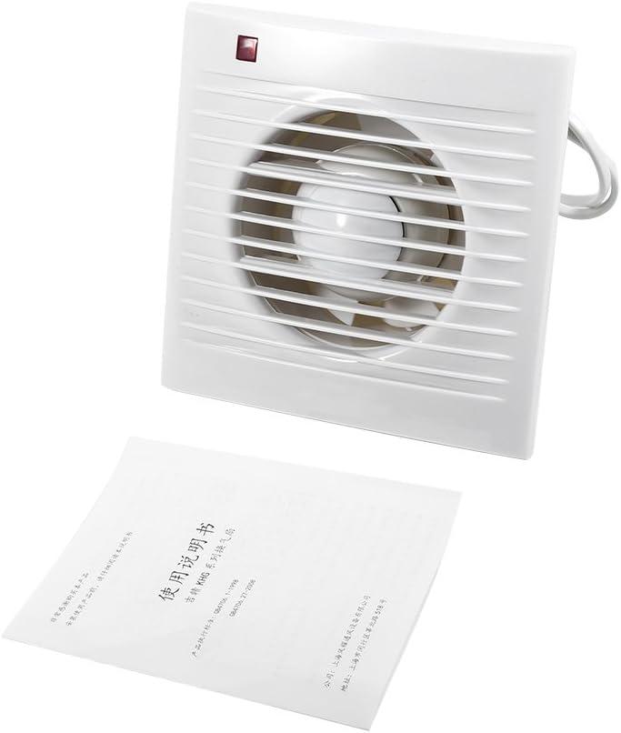Haofy Ventilador Extractor con Temporizador y Silenciosa para Baño, Cocina, Montado en la Pared (4 inch)